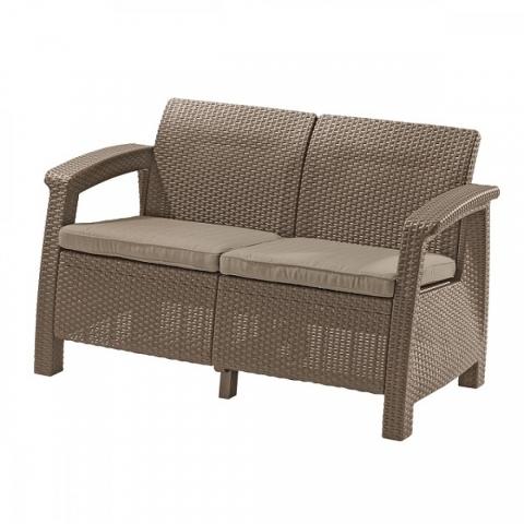 products/Диван садовый Keter CORFU II LOVE SEAT cappucino 17197359C