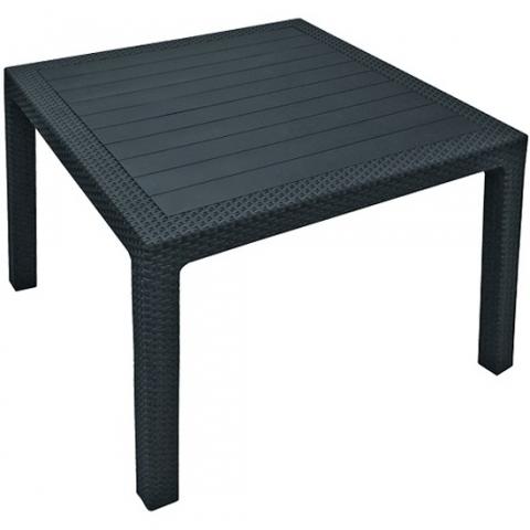 products/Стол квадратный Keter Melody Quartet, графит 95х95 17197992G